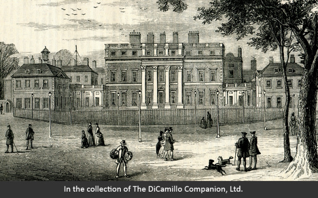 Photo Of Buckingham House As It Was Known Inn 1775