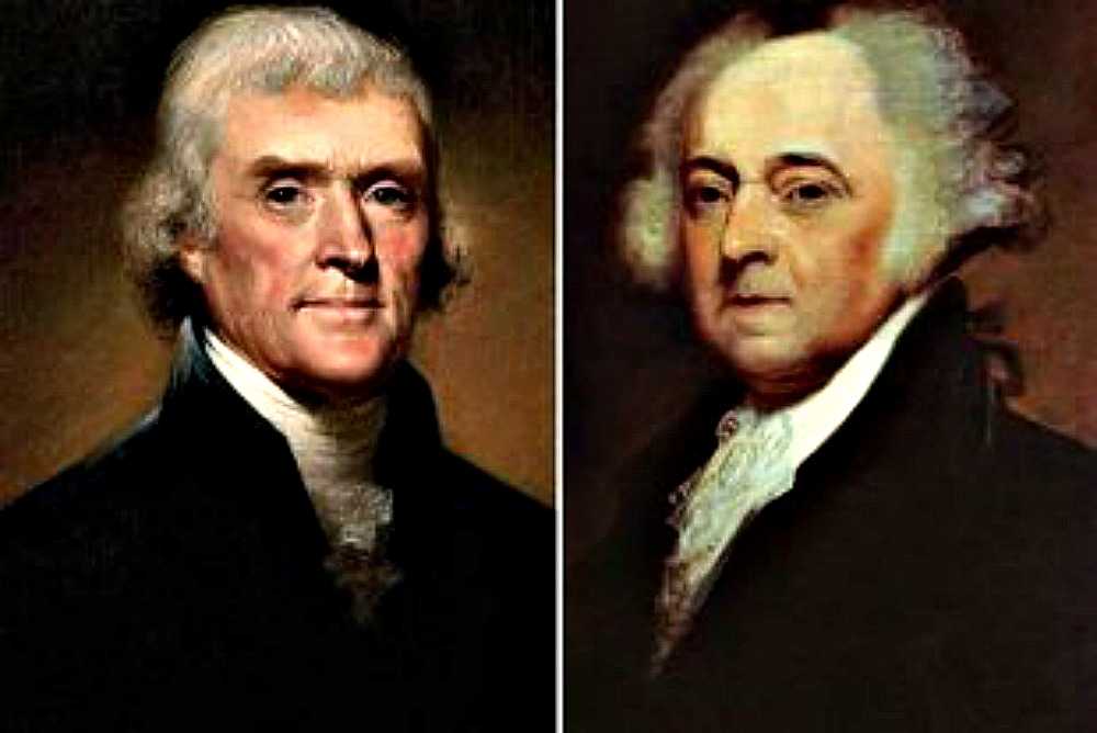 Resultat d'imatges de Adams y Thomas Jefferson